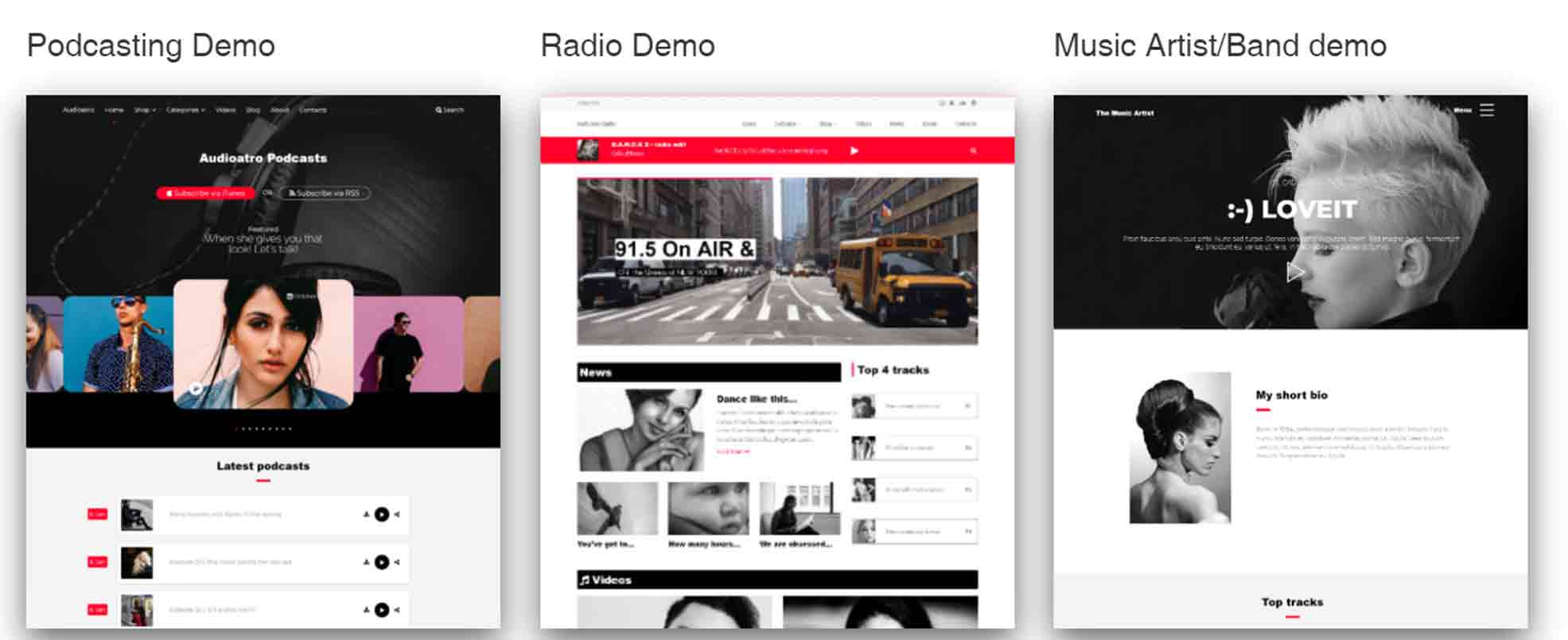 Audioatro - Multipurpose Audio WordPress Theme