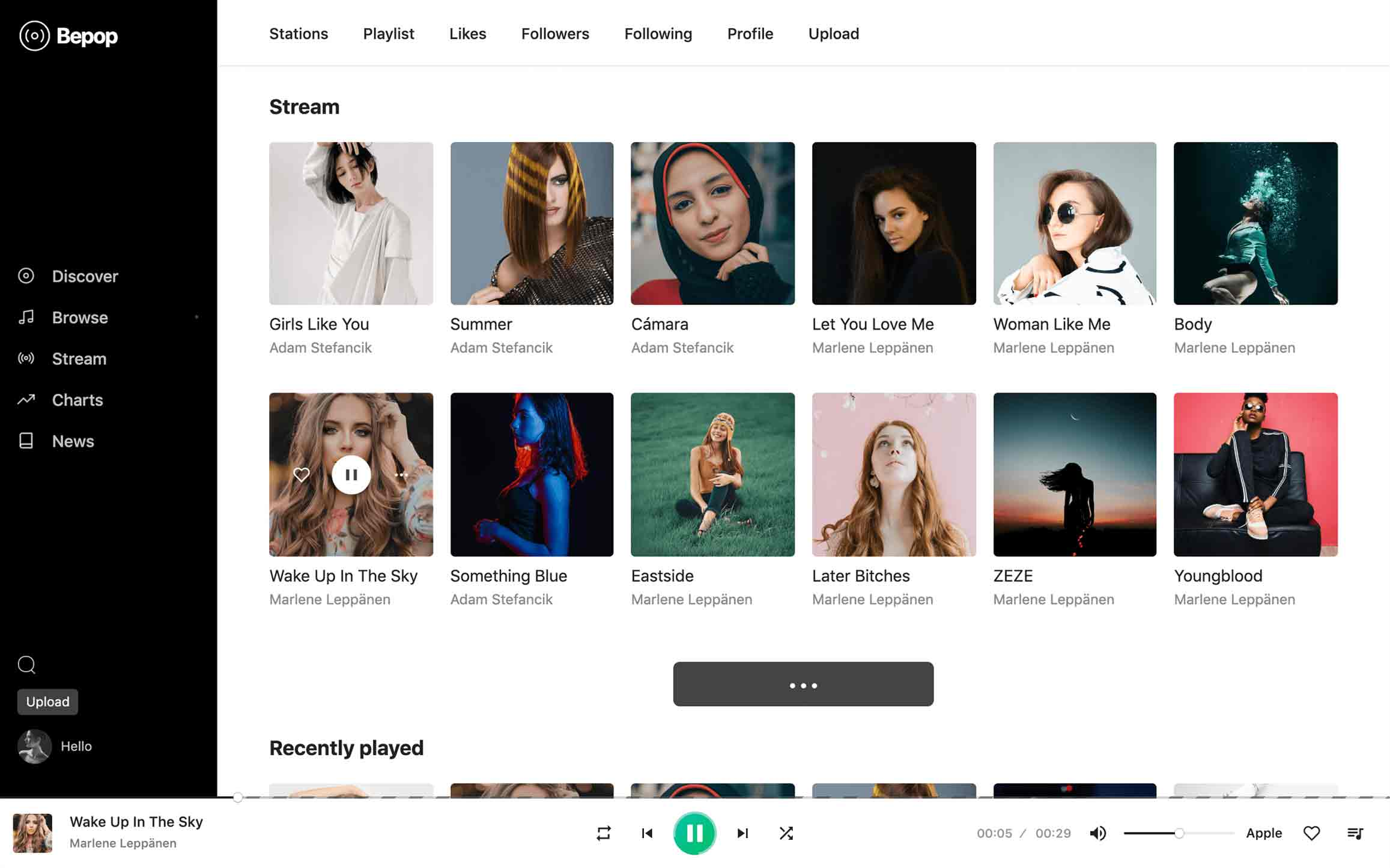 Bepop - Non-stop Music WordPress Theme