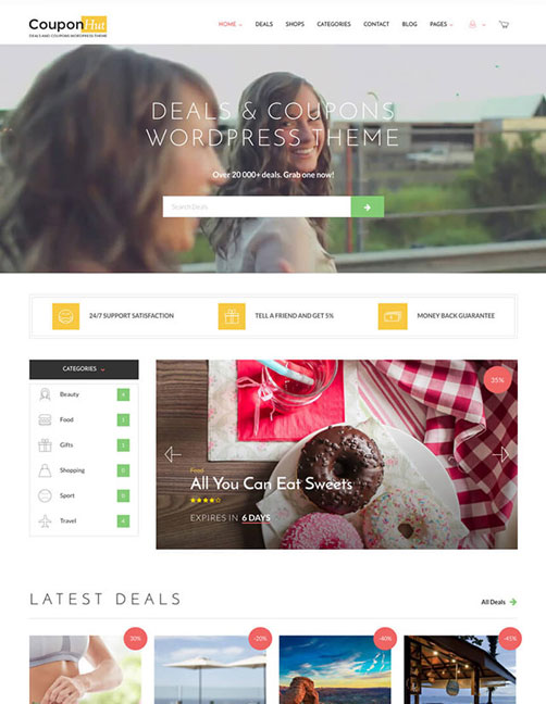 CouponHut – Coupons & Deals WordPress Theme