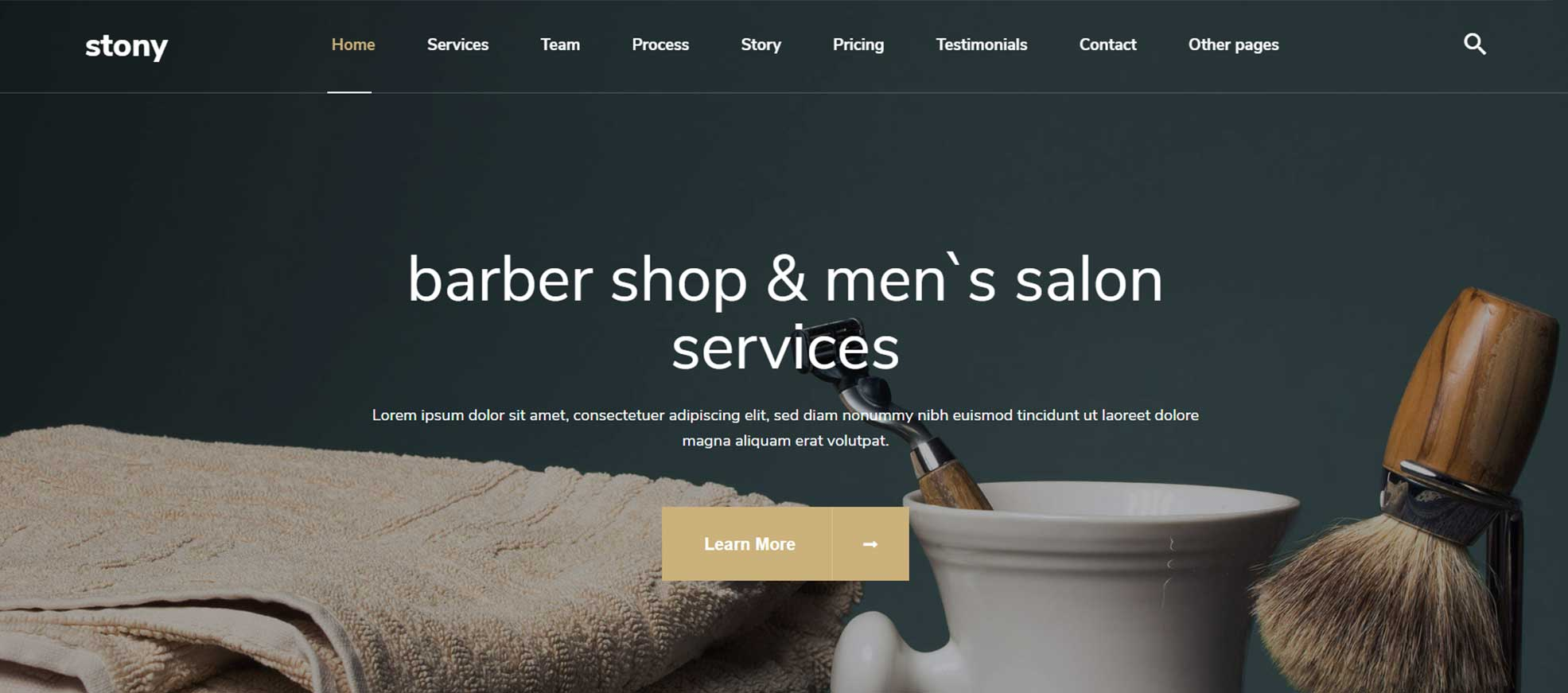 Stony - Small Business WordPress